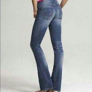 Express Eva Flare Bootcut Denim Jeans
